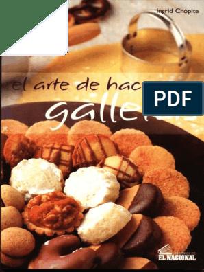 El Arte De Hacer Galletas Trigo Chocolate