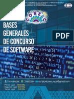 Bases Generales Del Concurso de Software
