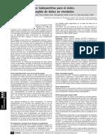 Nota Farmacológica Gabapentina Para El Dolor Nueva Evidencia Surgida de Datos No Revelados