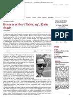 Historia de Un Libro, I_ _Bolivia, Hoy_, 30 Años Después _ Nueva Crónica