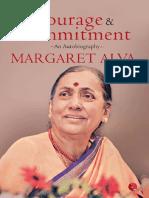 Courage & Commitment_ an Autobi - Margaret Alva