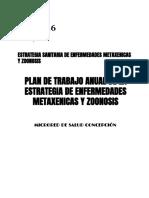 Plan Anual Estrategia Sanitaria de Enfermeddes Metaxenicas y Zoonoticas Microred Concepcion 2016 (2)