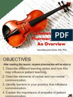 Unit IV. Communication in Pharmacy Practice.pdf