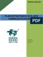 Plan Estrategico FarmaMundi 2015 2018