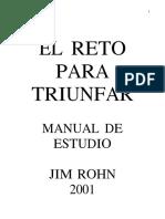 El Reto Para Triunfar - James Rohn