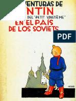 01-Tintin en El Pais de Los Soviets (Small Size)