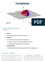 Aula 2 - Álgebra dos Números Complexos.pdf