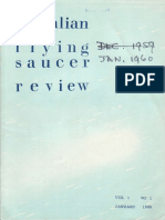 Australian Flying Saucer Review - Volume 1, Number 1 - January 1960