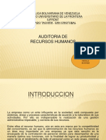 Auditoria de Recursos Humanos Yainy Paola