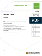 Secondary Progression Test - Stage 8 Science Paper 2.pdf