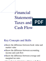 Financial Statements, Taxes and Cash Flow Chap02ppt