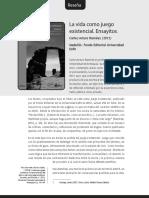 La vida como juego existencial - Carlos Arturo Ramírez.pdf