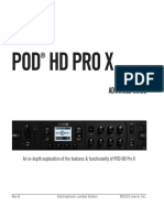 POD HD Pro X Advanced Guide - English ( Rev a )