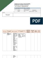 Formato Plan Calendario Sabatino Ingeniería de Sistemas