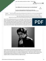 """Joaquín Sabina_ """"Hoy a los idiotas los reconoces por su autoestima"""" - The Clinic Online"""