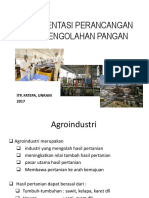 2. Dokumentasi Perancangan Unit Pengolahan Pangan New