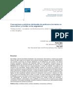 Carlino Et Al_Concepciones y Prácticas Declaradas de Profesores