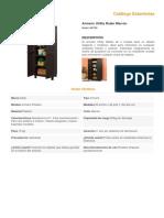 Catálogo de Estantería