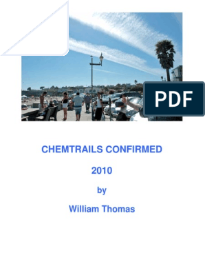 Chemtrails Confirmed by William Thomas pdf | Greenhouse