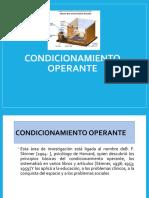 Clase 5 Condicionamiento Operante