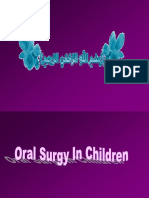 Oral Surgery in Children Exodontia