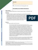 Permiabilidad Membrana Externa y Resistencia