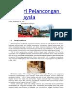 Industri Pelancongan Di Malaysia