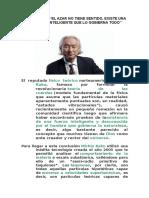 MICHIO KAKU - EL AZAR NO TIENE SENTIDO (Dios).doc