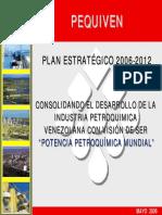 Pequiven Plan Estratégico Consolidando El Desarrollo de La Industria Petroquimica Venezolana Con Visión de Ser Potencia Petroquímica Mundial