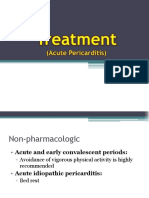 Treatment of Pericarditis
