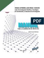 Manual para la elaboración de proyectos