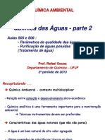 Aulas S05 e S06 Química Das Aguas Parte 2 2S2013