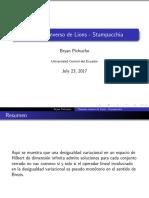 Teorema Inverso de Lions Stampacchia