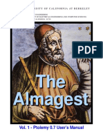 The Almagest Ptolomay OS Berkeley