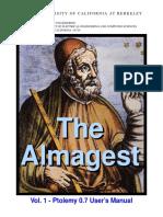 The Almagest Ptolomay OS Berkeley