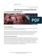 Bored to Death- The Psychological Threats to Situational Awareness_Copyright Stratfor 2017