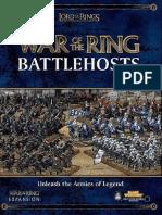 GW WotR Rules War of the Ring Battlehosts