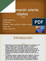 Programación Orienta Objetos 2