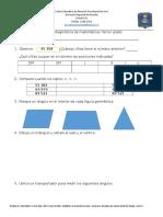 Práctica Diagnóstica Matemáticas 3 Tercer Grado