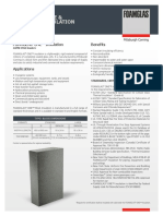 FOAMGLAS® ONE™ Insulation %28ASTM%29 PDS