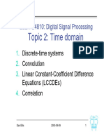Digital Signal Processing L02-time domain