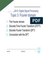 Digital Signal Processing L03 Fourier