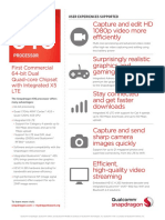 Snapdragon 616 Processor Product Brief