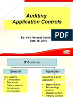 Auditing Application Controls,,