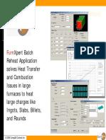 FurnXpert Presentation Reheat Batch Demo