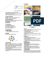 COLORS and Light lesson plan