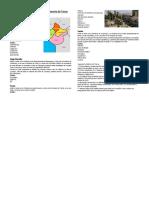 Provincias y Distritos Del Departamento de Tacna
