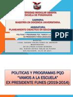 POLITICAS Y PPROGRAMAS PLAN EDUCATIVO 2021.ppt