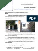 Dictamen Estructural Calle Guadalupe # 615. 6-07-2017