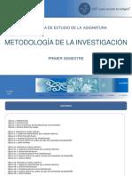 5 Asignatura Metodología de La Investigación (1)